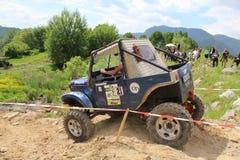 Concurrence tous terrains Smolyan 4x4 Bulgarie - Smolyan Photos libres de droits