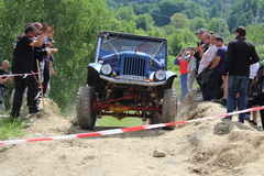Concurrence tous terrains Smolyan 4x4 Bulgarie - Smolyan Photo stock