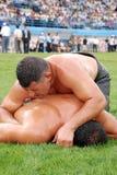 Concurrent de lutteur Photo libre de droits