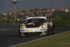 Concurrentie Porsche van Prospeed Stock Afbeelding