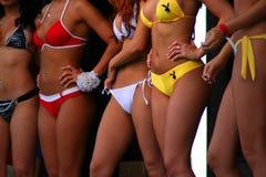 Concurrentie van de bikini Stock Foto