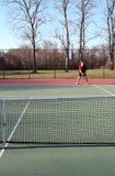 Concurrentie van het tennis Stock Foto