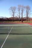 Concurrentie van het tennis stock afbeelding