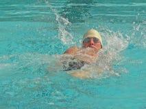 Concurrerende Zwemmer Royalty-vrije Stock Fotografie