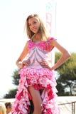 Concurso de belleza adolescente de la muchacha en el festival Suráfrica Imagenes de archivo