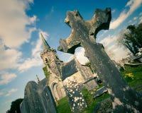 Condado Cork Ireland Cemetary Fotografía de archivo