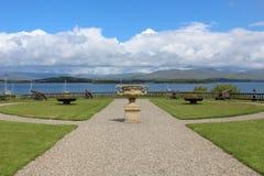 Condado Cork Ireland de Bantry dos jardins da casa de Bantry fotos de stock