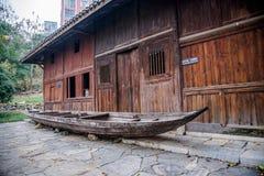 Condado da reconstrução do condado de Hubei Badong Foto de Stock Royalty Free