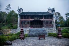 Condado da reconstrução do condado de Hubei Badong Imagem de Stock