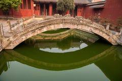 Condado de Fushun Fushun, provincia de Sichuan, Ling Xing Gate Temple imágenes de archivo libres de regalías