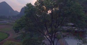 Condado de Yaungshuo no por do sol filme