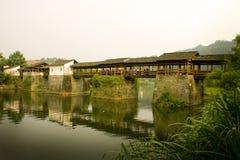Condado espectacular de Wuyuan en el sur de China, recorrido Imagen de archivo