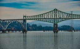 The Conde B. McCullough Memorial Bridge Stock Photo