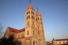 Conde Catholic Church del St Fotografía de archivo