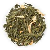 Conde Grey de Sencha del té verde Imagen de archivo