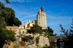 The Conde Guimaraes castle, Cascais, Portugal Stock Photo