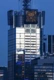 Conde Nast Gebäude bei Sonnenuntergang Lizenzfreies Stockbild