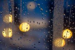 Condenced-Wassertropfen Stockfoto