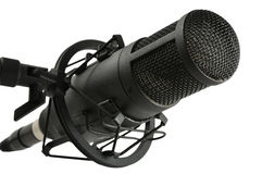 Condencer microphone Stock Photo