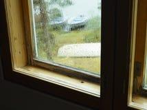 Condensação da chuva e da umidade imagens de stock royalty free