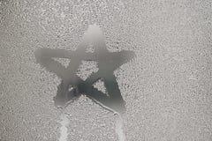 Condensación del agua Foto de archivo libre de regalías