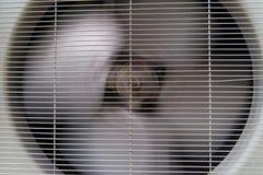 Condensador del acondicionador de aire Imagen de archivo