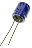 Condensador electrolítico fotografía de archivo