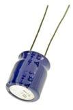 Condensador electrolítico fotos de archivo libres de regalías