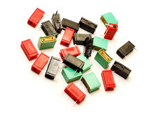 Condensadores Foto de archivo libre de regalías