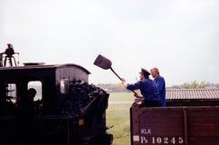 Condensadores de ajuste del carbón Imagen de archivo