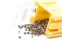 Condensadores de SMD Imágenes de archivo libres de regalías