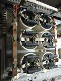 Condensadores eléctricos Imágenes de archivo libres de regalías