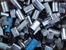 condensateurs Photographie stock libre de droits