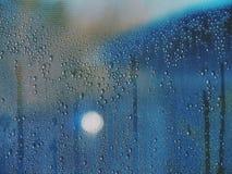 Condensatie op het venster Royalty-vrije Stock Afbeelding