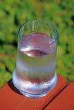 Condensatie op koude drank stock foto's