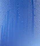 Condensation On Blue Royalty Free Stock Photo