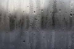 Condensation on a window Royalty Free Stock Photography
