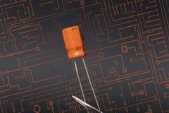 condensator Stock Afbeeldingen