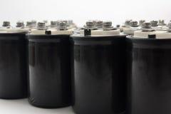 Condensatore elettrolitico fotografia stock libera da diritti