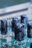 Condensatoren Stock Foto's