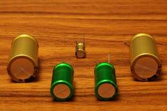 condensatoren Royalty-vrije Stock Afbeeldingen