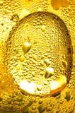 Condensazione dell'oro fotografia stock libera da diritti
