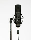 Condenser microphone Royalty Free Stock Images