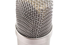 Condenser microphone Stock Photo