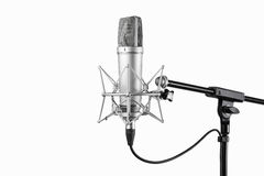Condenser microphone Royalty Free Stock Photos