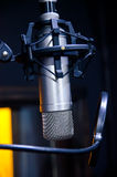 Condenser microphone Royalty Free Stock Image