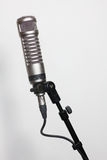 Condenser microphone on white Stock Photography