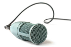 Condenser microphone  on a white Stock Photography