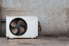 Condenser unit air old Royalty Free Stock Photo