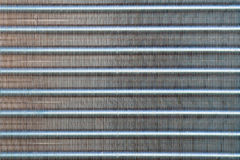 Condensor coil closeup Royalty Free Stock Image